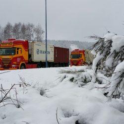 """""""Frankrijk """"Les Vosges"""" in de sneeuw"""""""